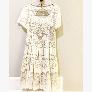 Cream Lace Tracy Reese Dress
